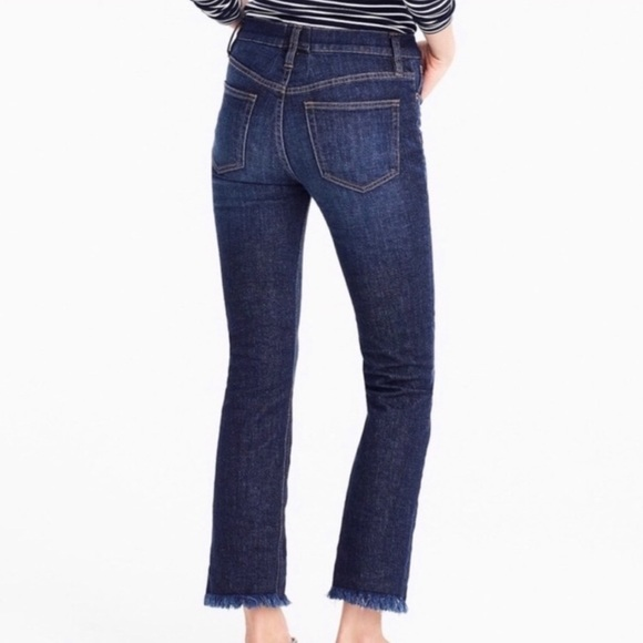 J. Crew Billie Demi Boot Crop Jeans Size 27